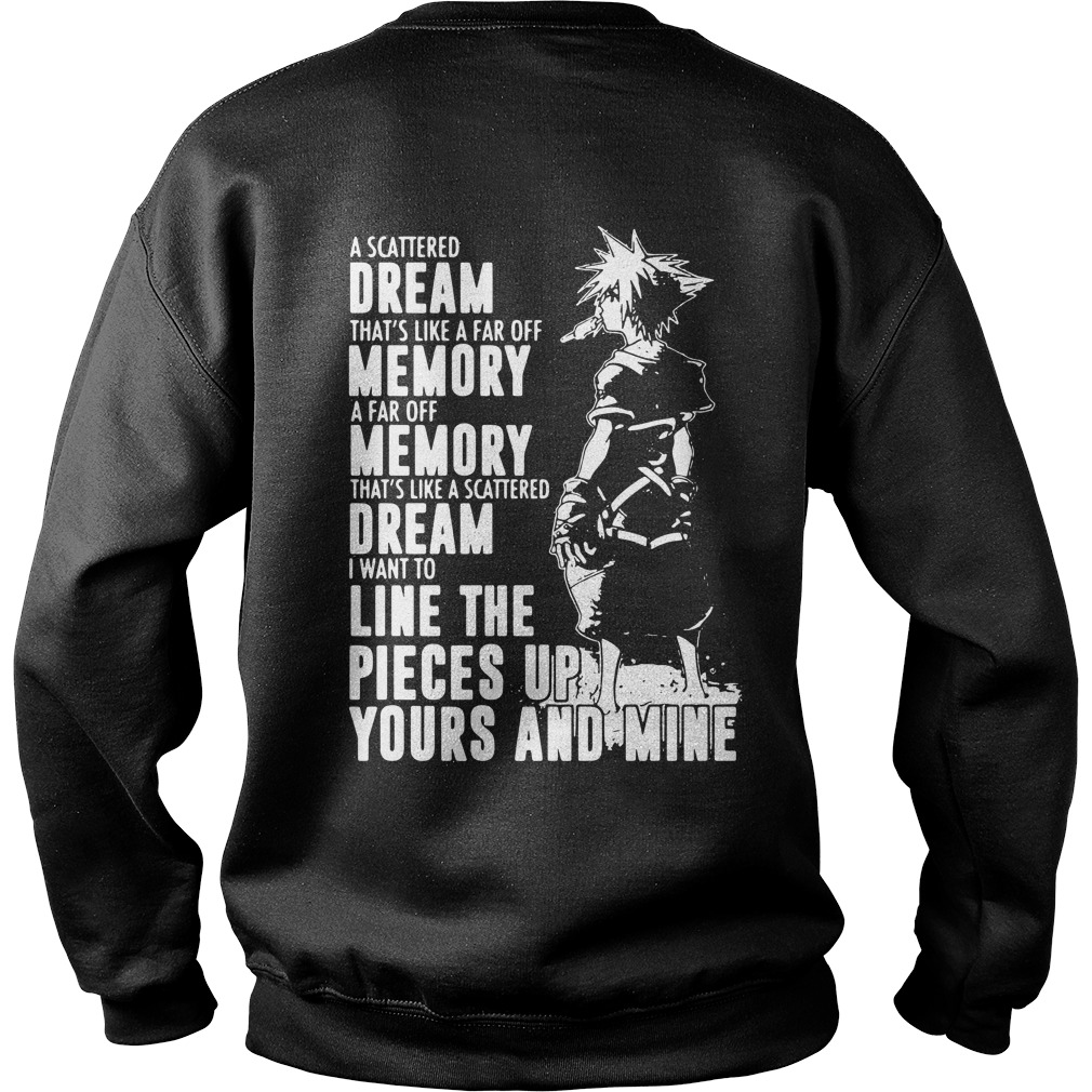 Kingdom Hearts The heart may be weak and sometinmes Sweater