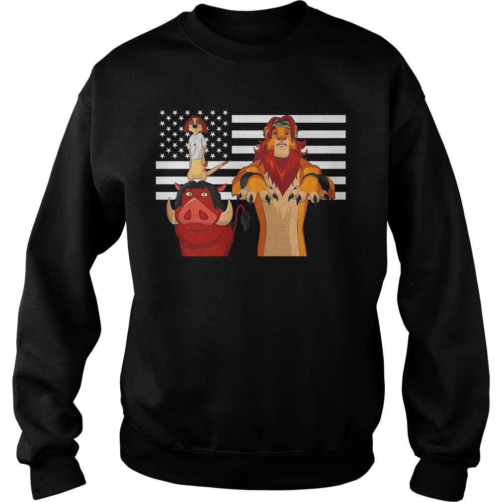The Lion King American flag Sweater