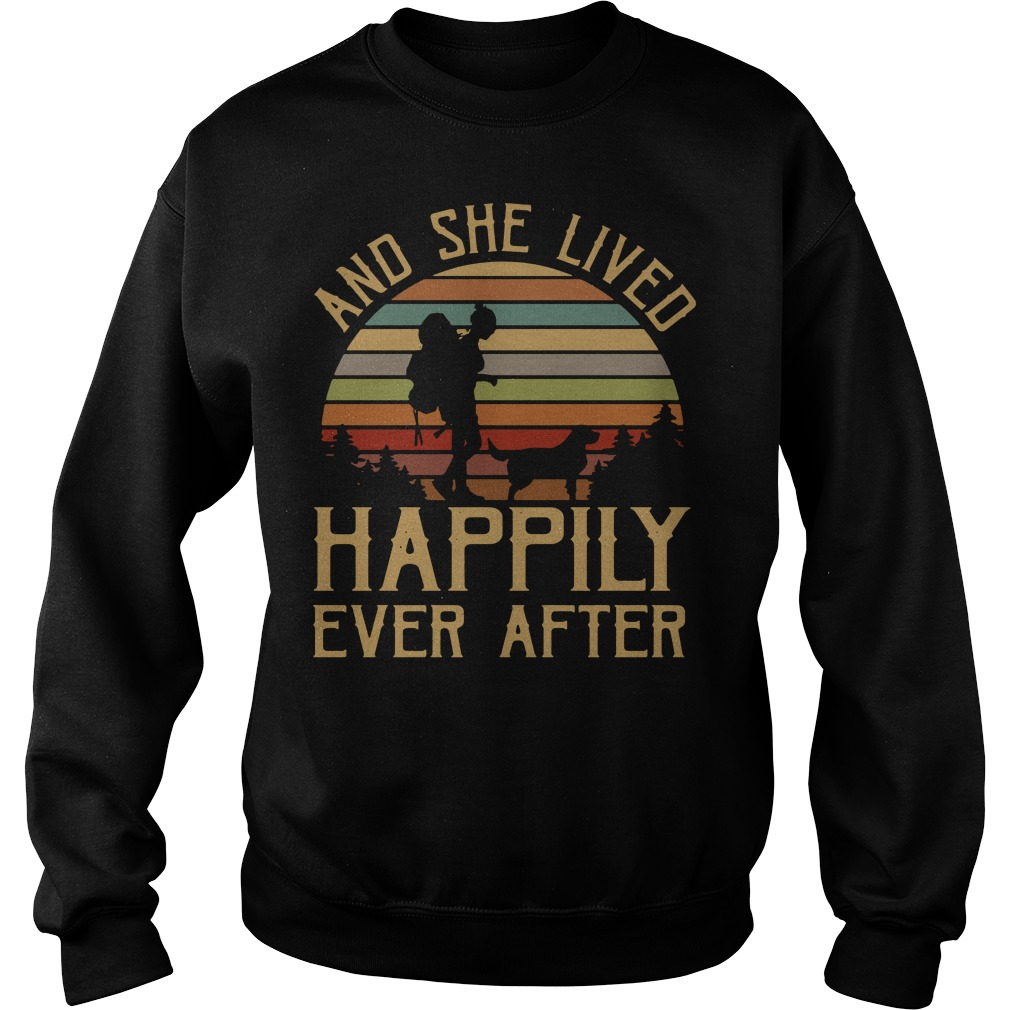 And she lived happily ever after Sweater