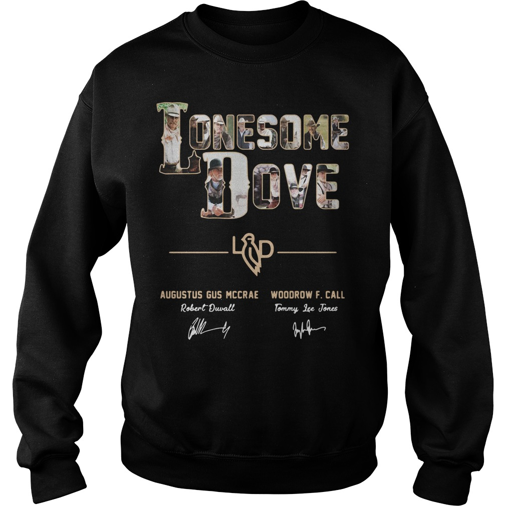 Lonesome dove Augustus Gus Mccrae and Woodrow F Call Sweater