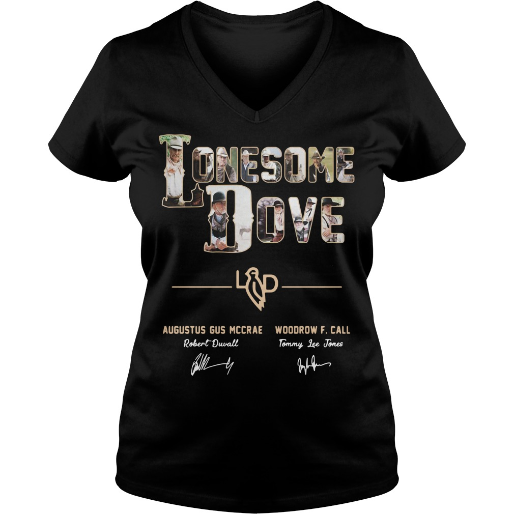 Lonesome dove Augustus Gus Mccrae and Woodrow F Call V-neck T-shirt