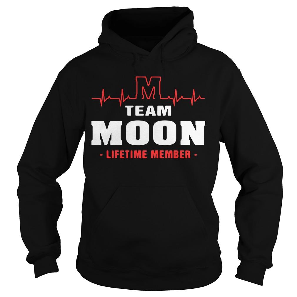 M team moon lifetime member Hoodie
