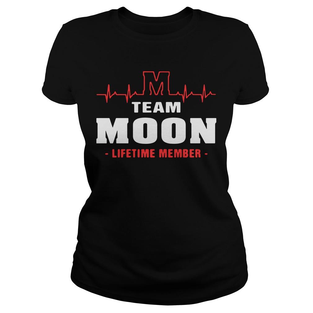 M team moon lifetime member Ladies Tee