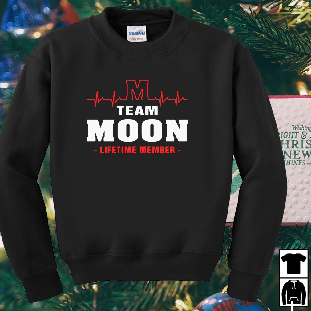 M team moon lifetime member shirt