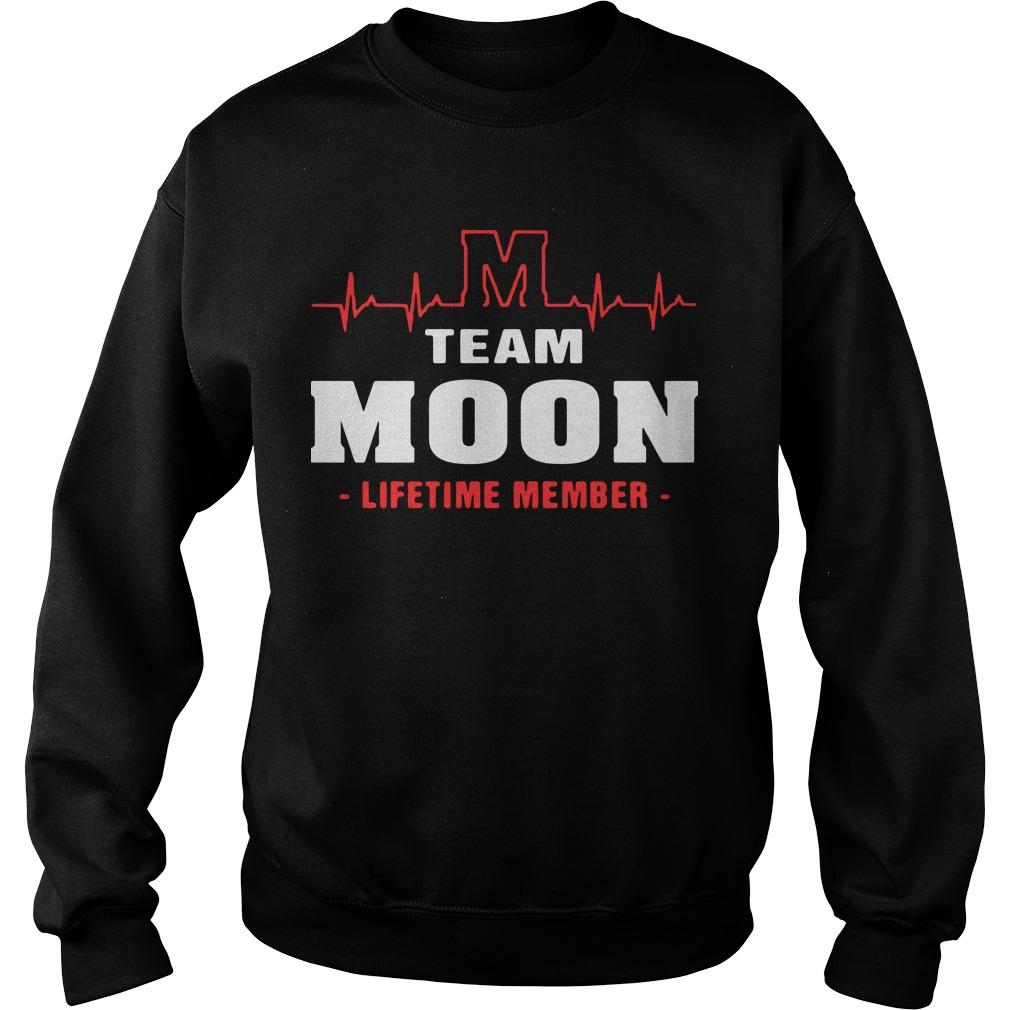 M team moon lifetime member Sweater
