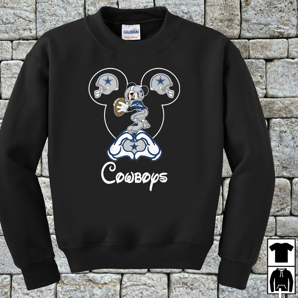 Mickey Mouse Dallas Cowboys shirt
