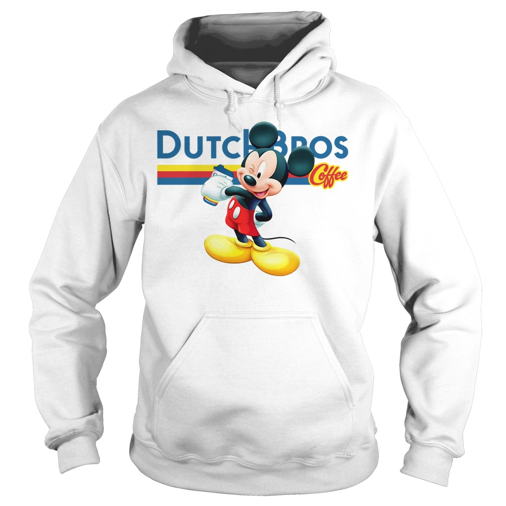 Mickey Mouse drink Dutch Bros coffee Hoodie