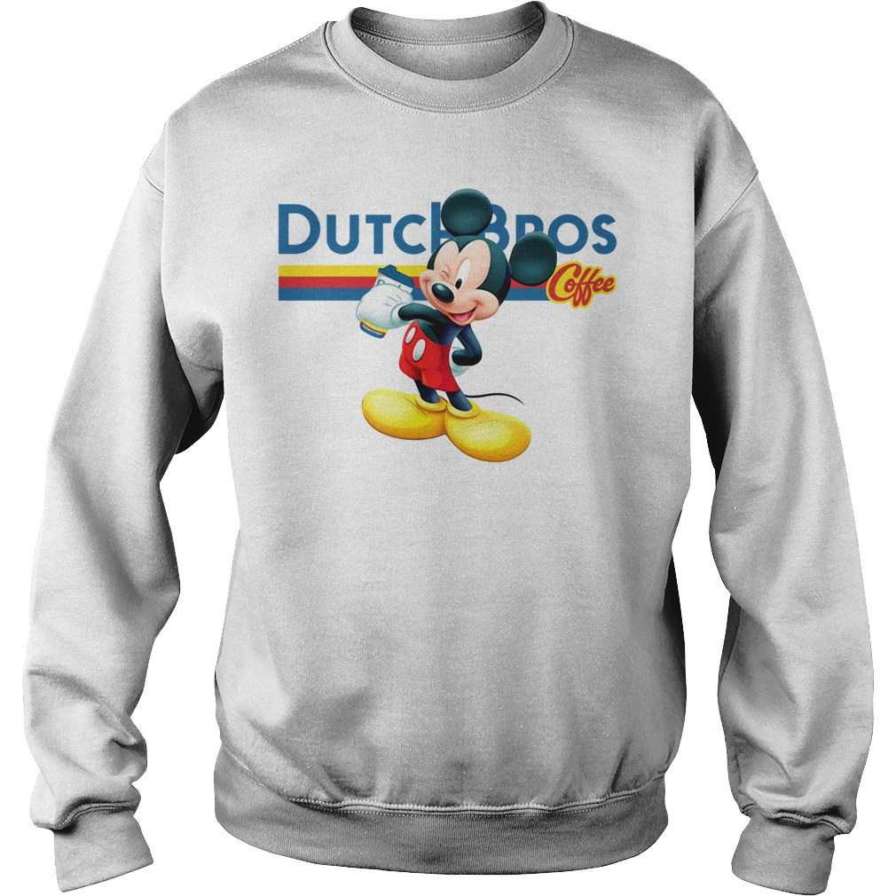 Mickey Mouse drink Dutch Bros coffee Sweater