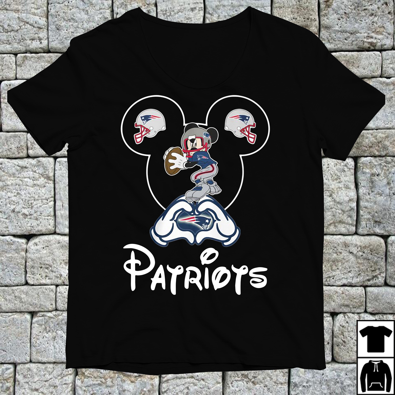 Mickey mouse New England Patriots shirt