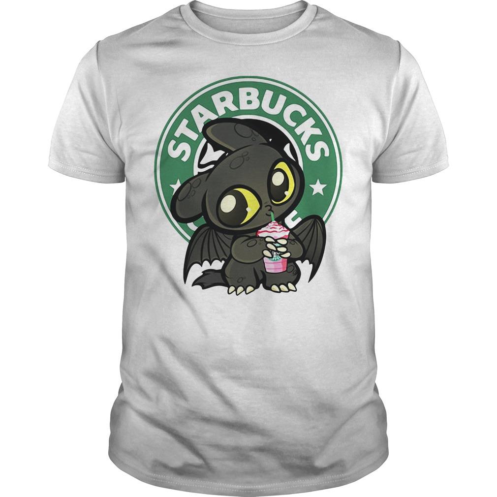 Night Fury starbucks coffee Guys shirt