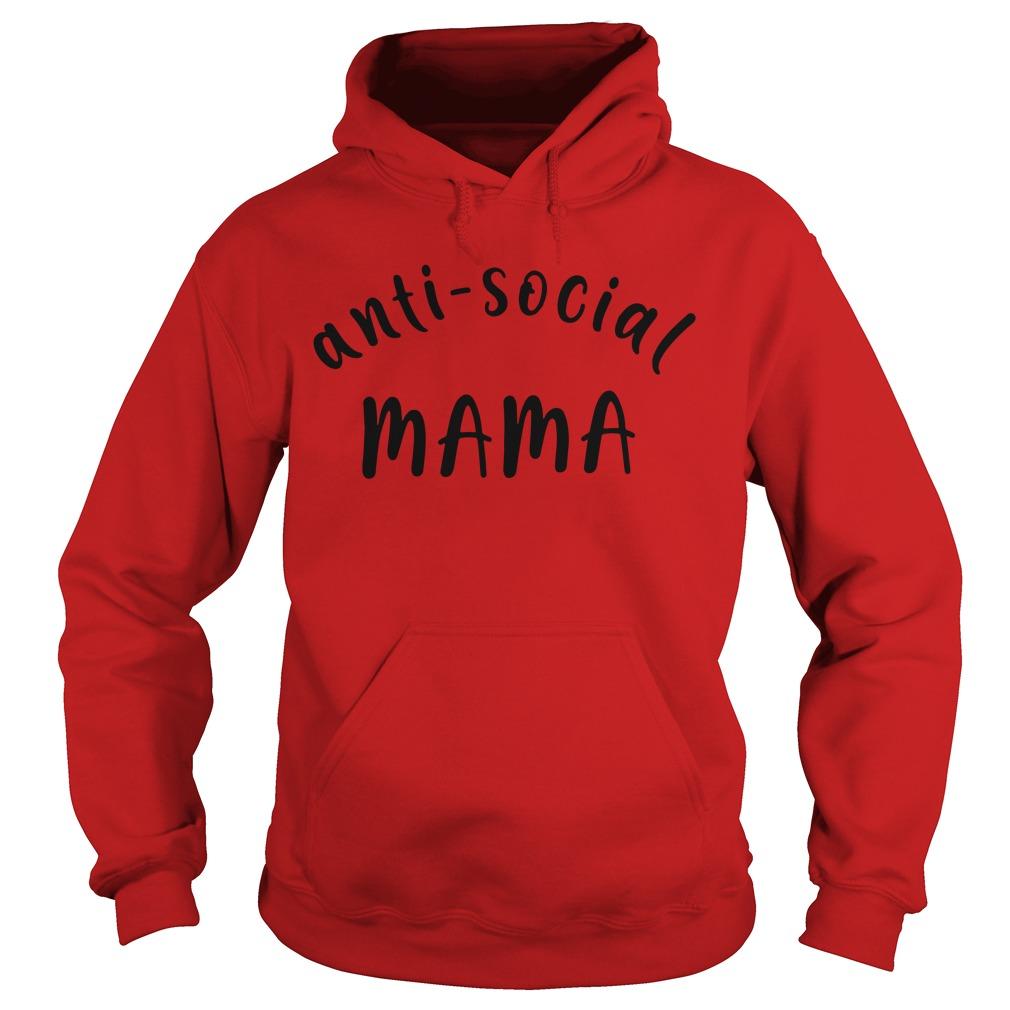 Official Anti social Mama Hoodie