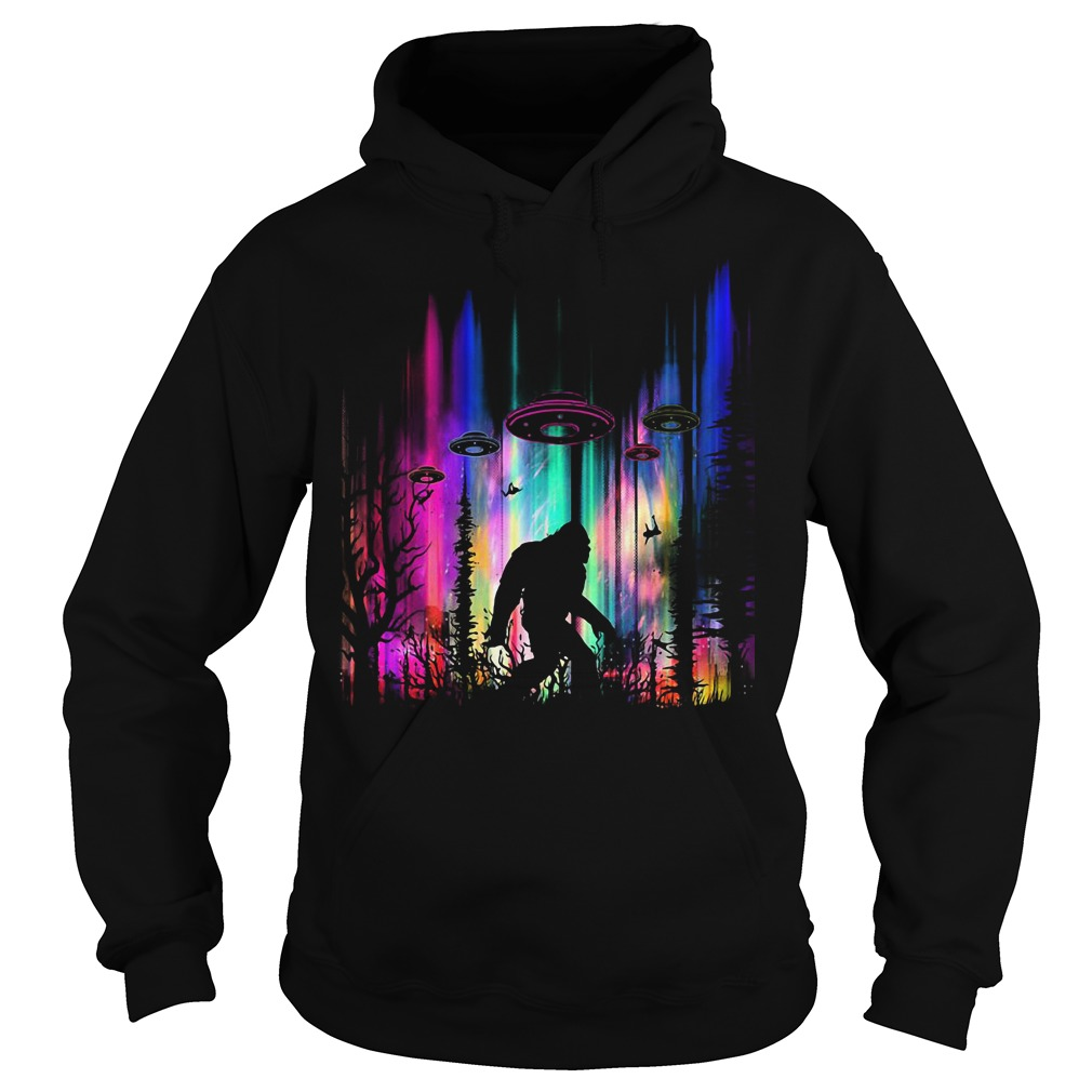Official Bigfoot UFO Abduction Hoodie