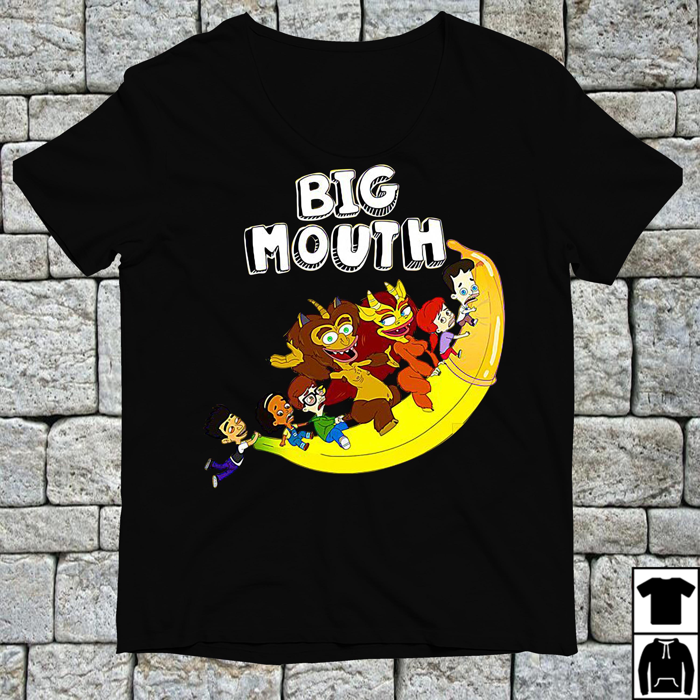Official Flying Banana big mouth shirt