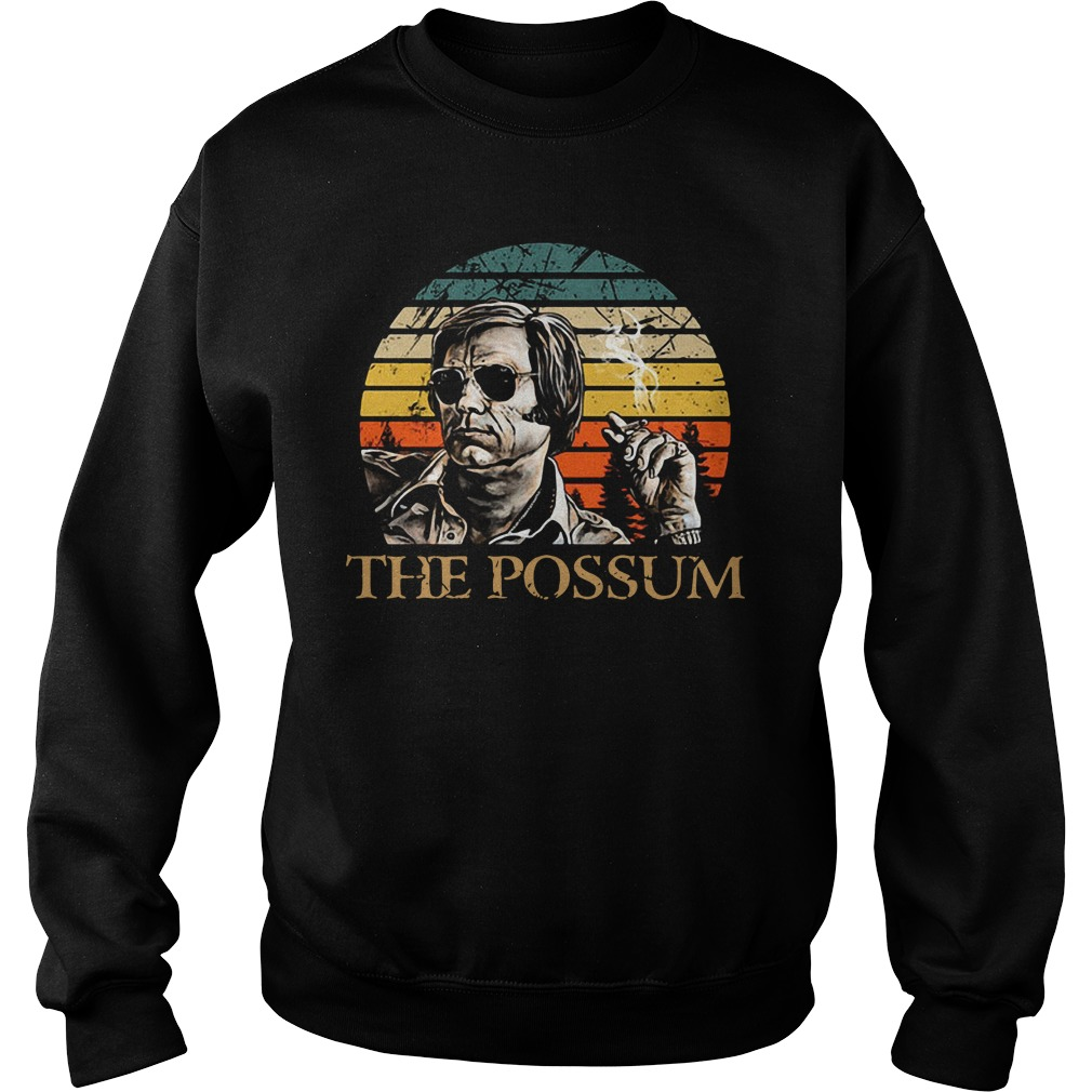 Official Jim Jones the possum vintage Sweater