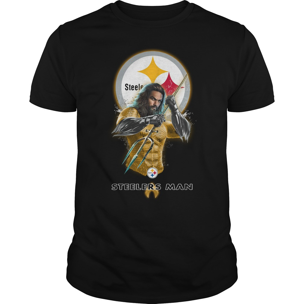 Pittsburgh Steelers Aquaman Steelersman Guys Shirt
