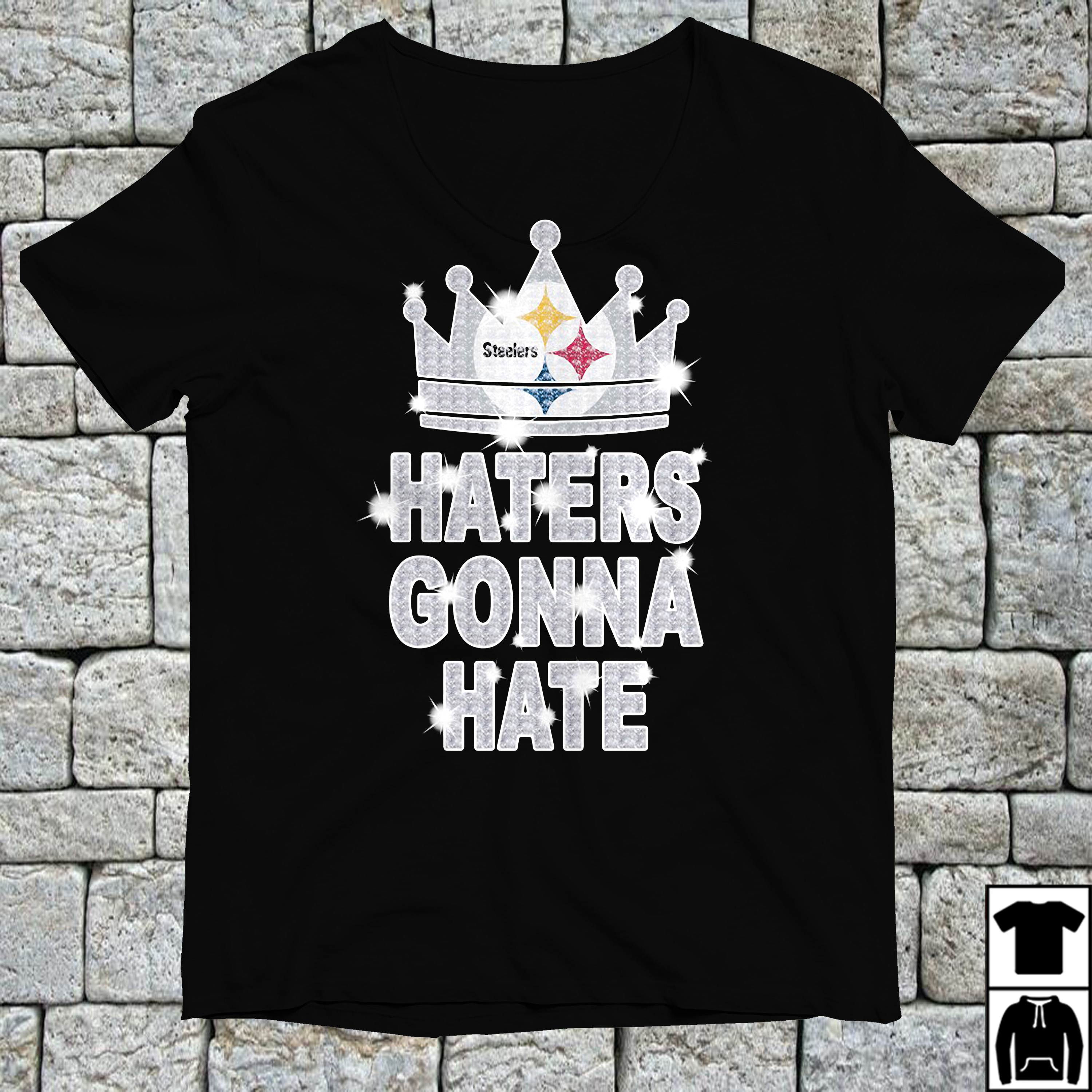 Pittsburgh Steelers haters gonna hate shirt