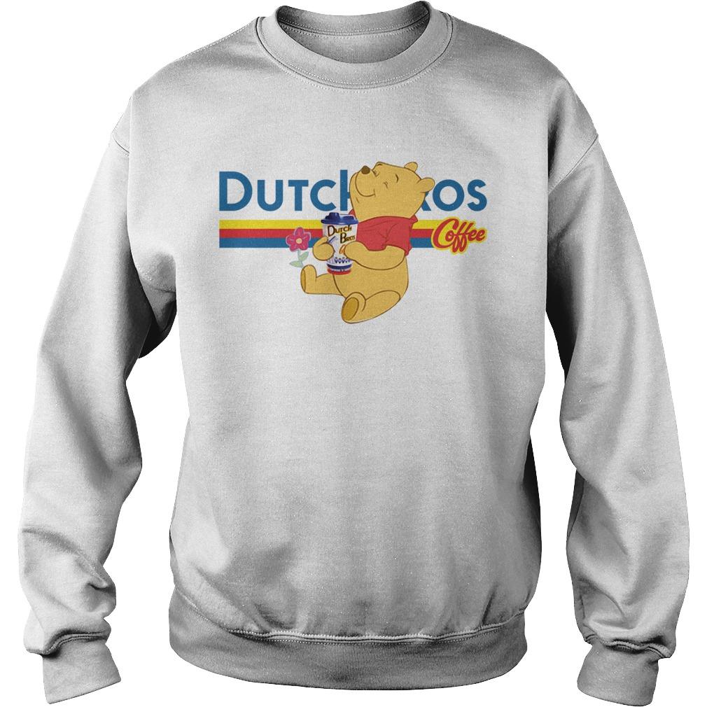 Pooh drink Dutch Bros coffee Sweater