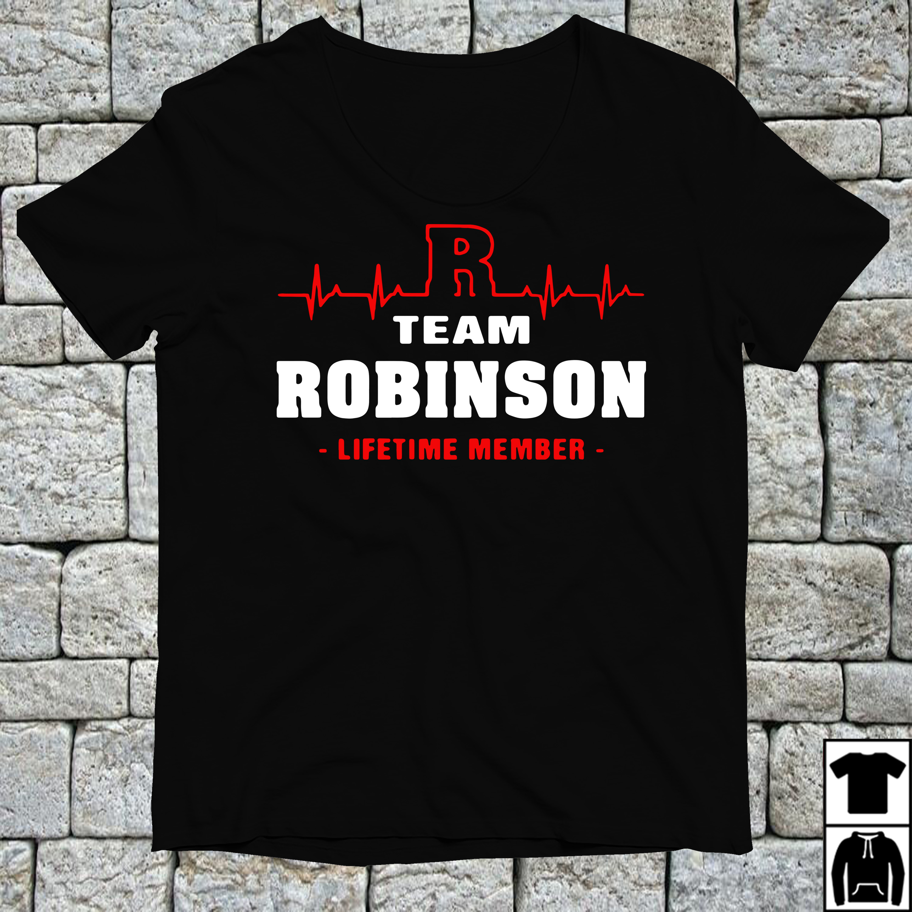 R team Robinson lifetime member shirt