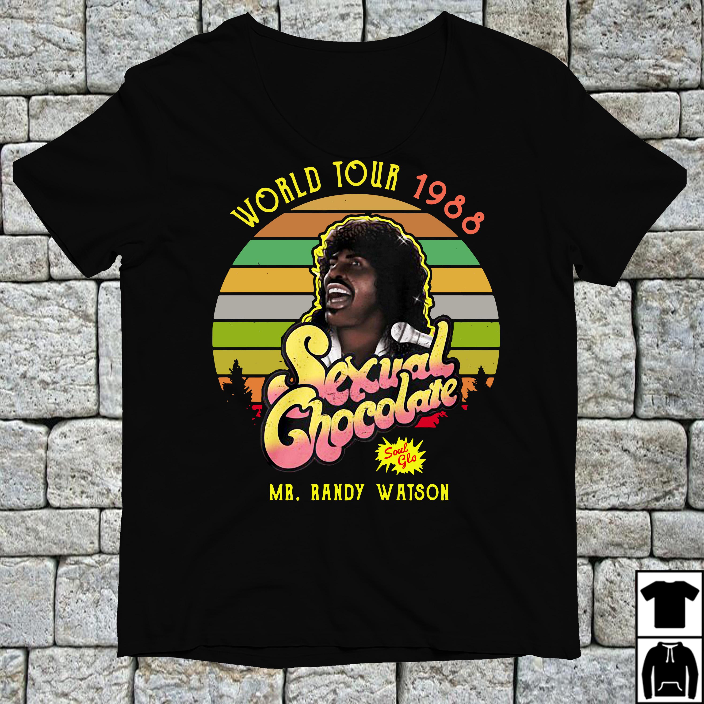 Randy Watson World tour 1988 Sexual Chocolate vintage shirt