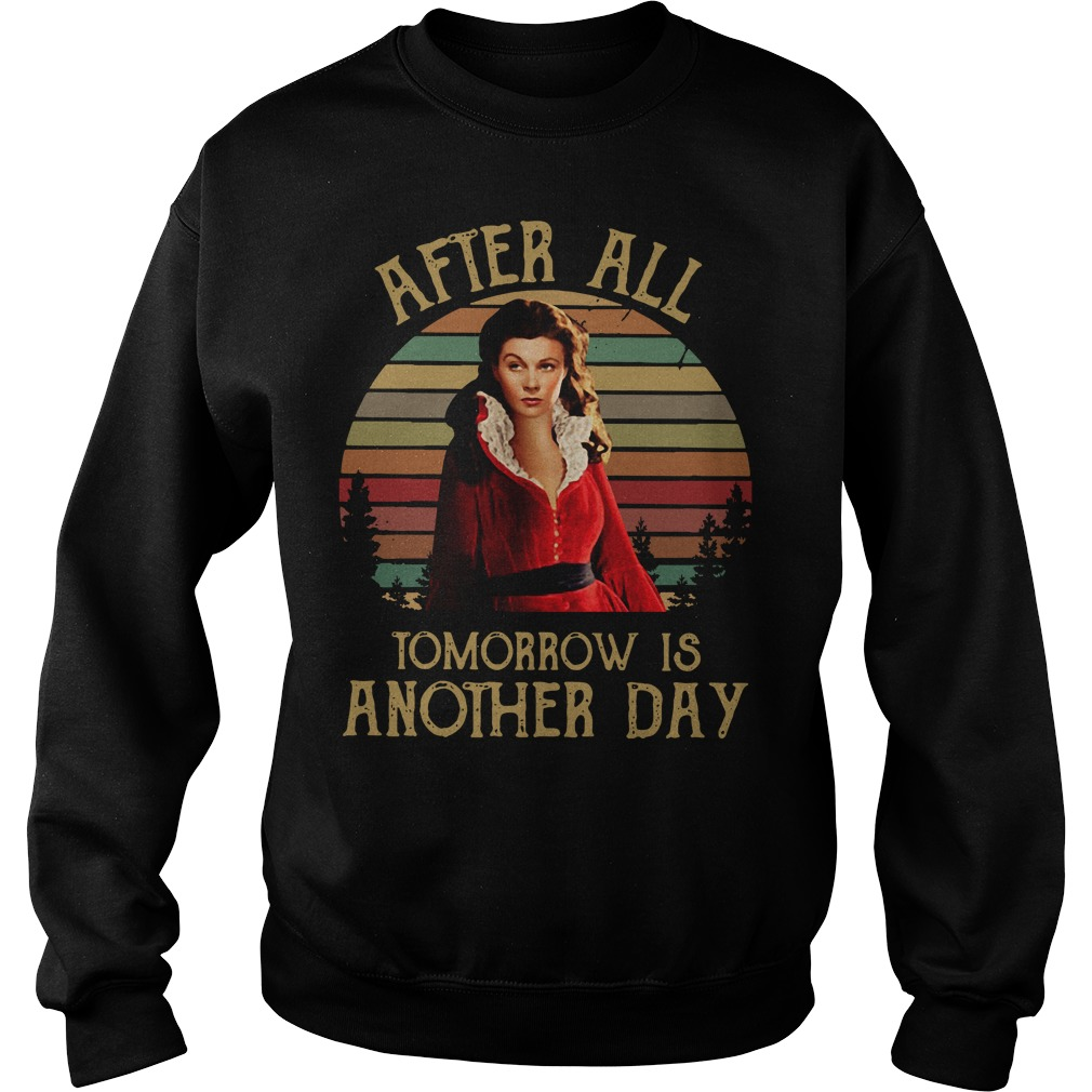 Scarlett O'Hara After all tomorrow is another day sunset Sweater