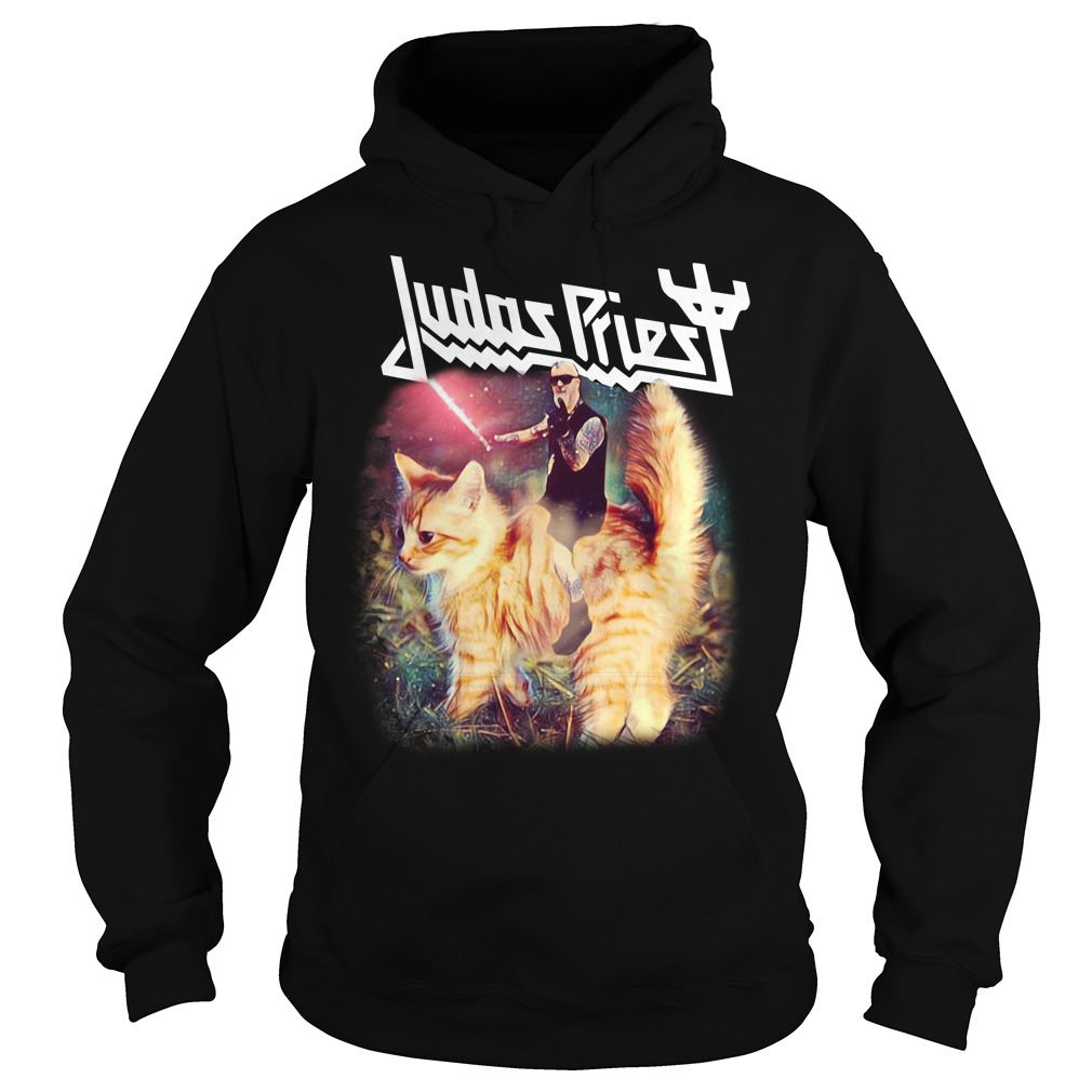 Star Wars Judas Priest riding cat Hoodie