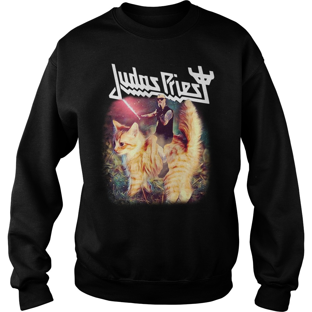 Star Wars Judas Priest riding cat Sweater