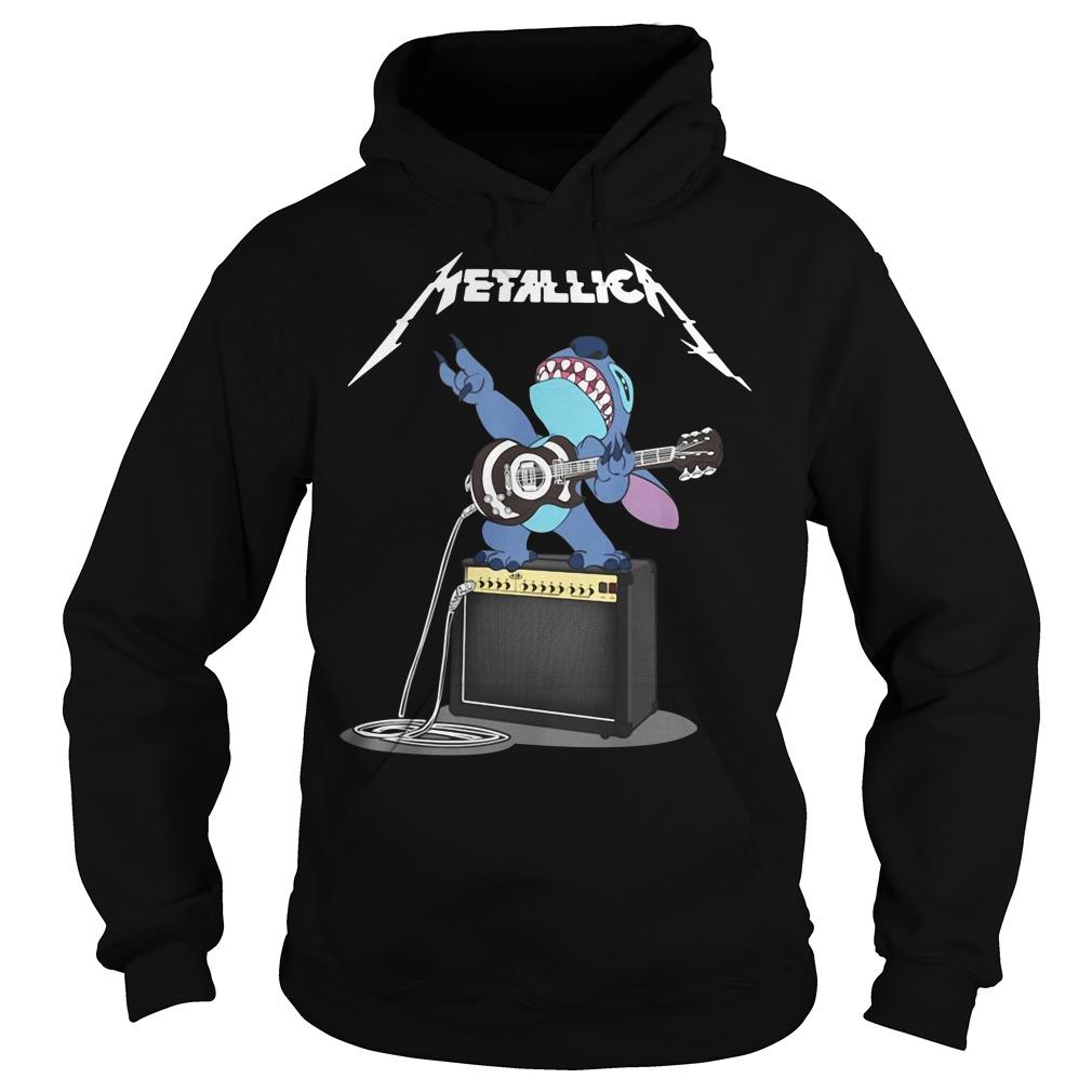 Stitch Metallica Hoodie
