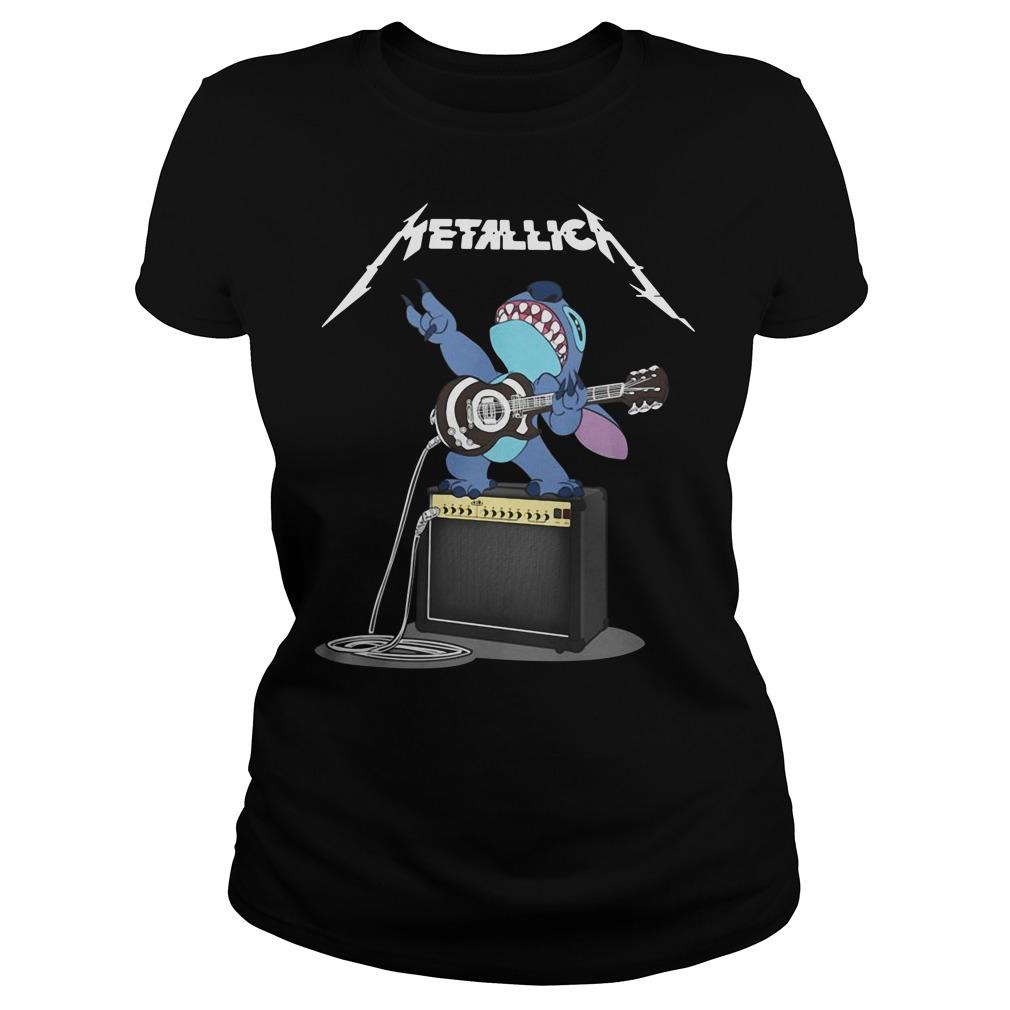 Stitch Metallica Ladies Tee