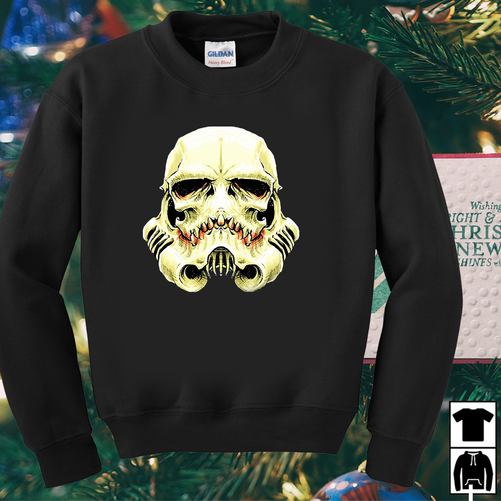 Stormtrooper Star Wars Skull shirt