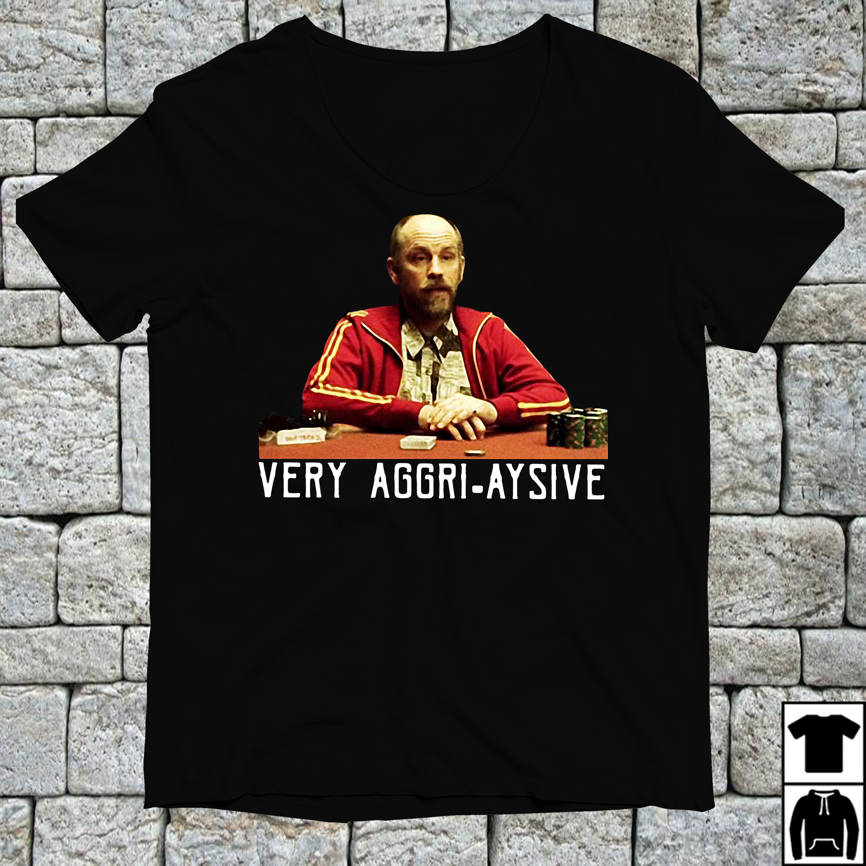 Teddy KGB very aggri aysive shirt