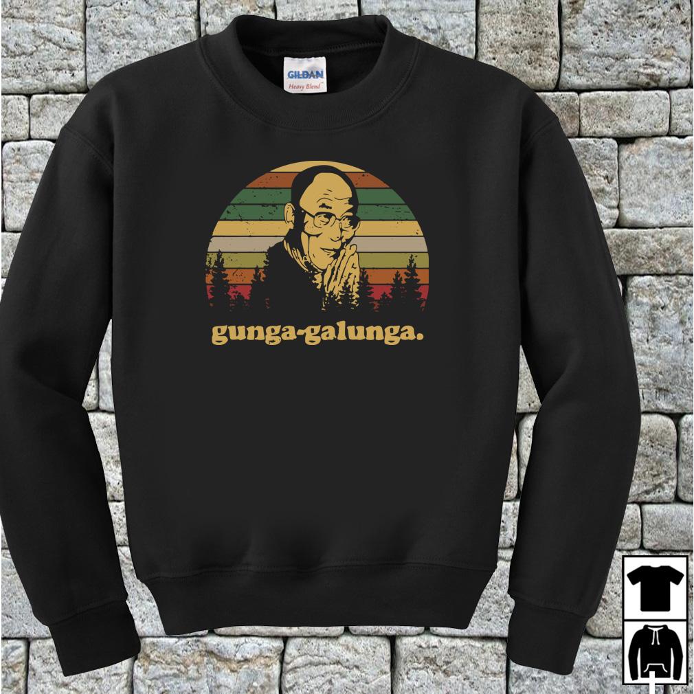 Tenzin Gyatso Gunga Galunga vintage shirt