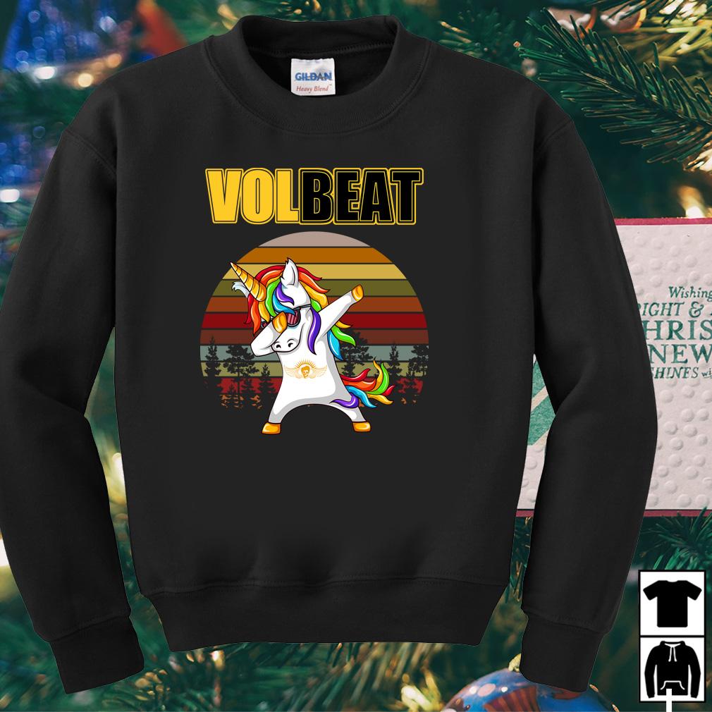 Unicorn dabbing volbeat shirt