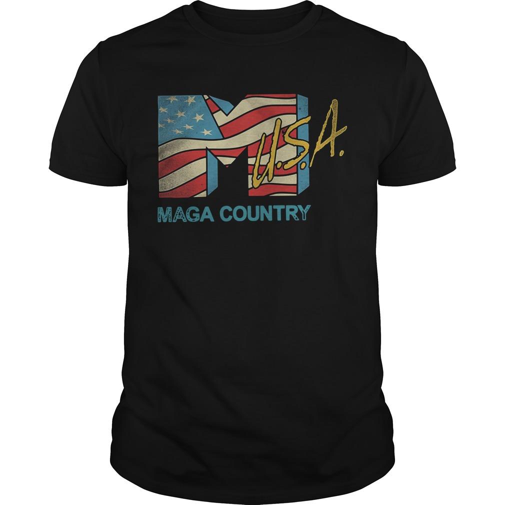 American flag USA Maga country Guys Shirt