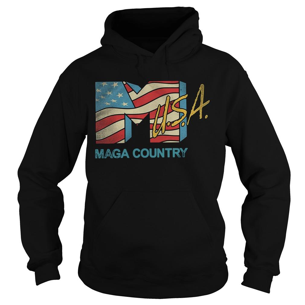 American flag USA Maga country Hoodie