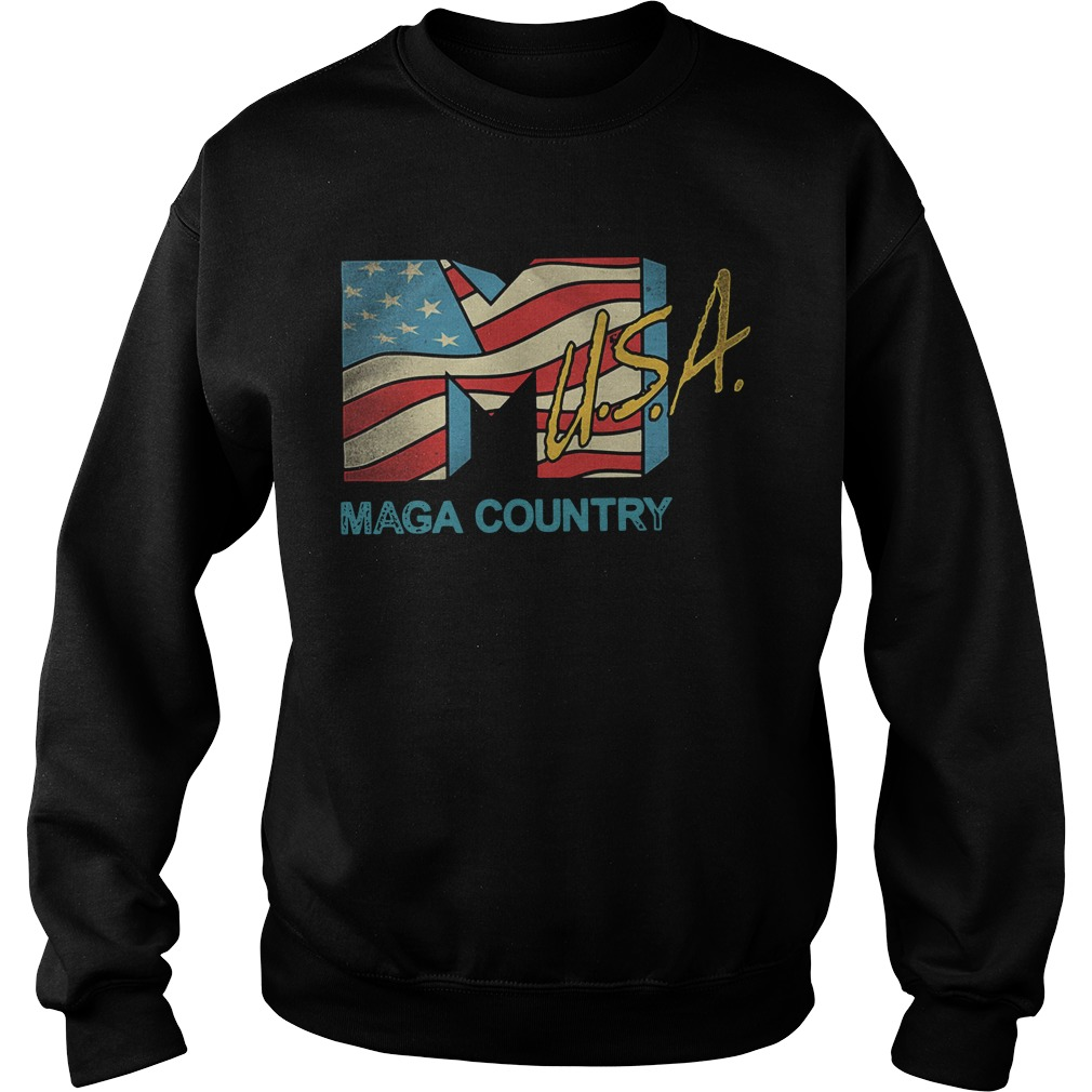 American flag USA Maga country Sweater