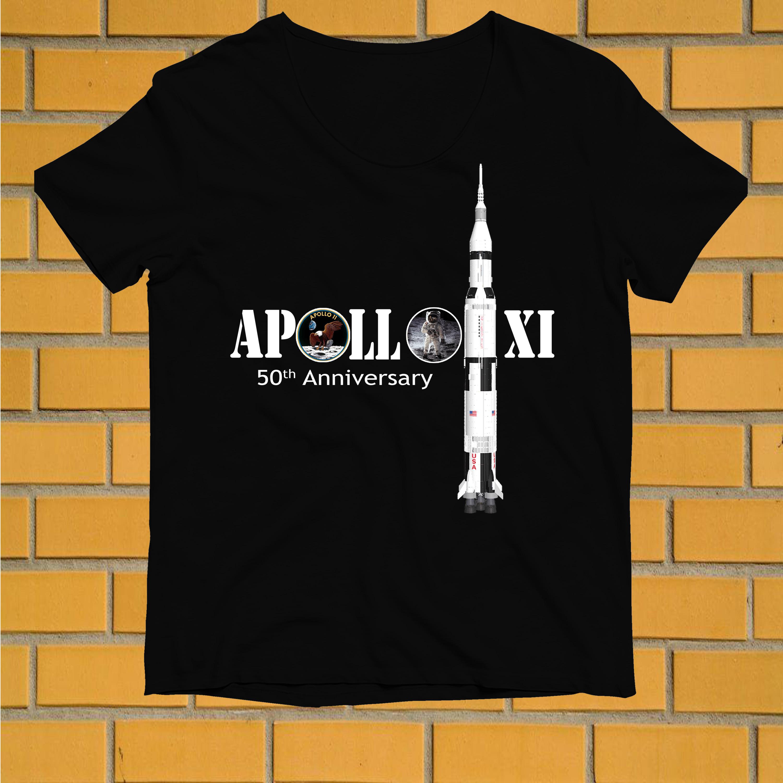 Apollo XI 50th anniversary shirt