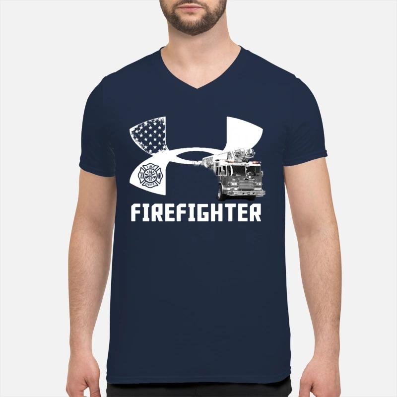 Under armour firefighter Guys Shirt