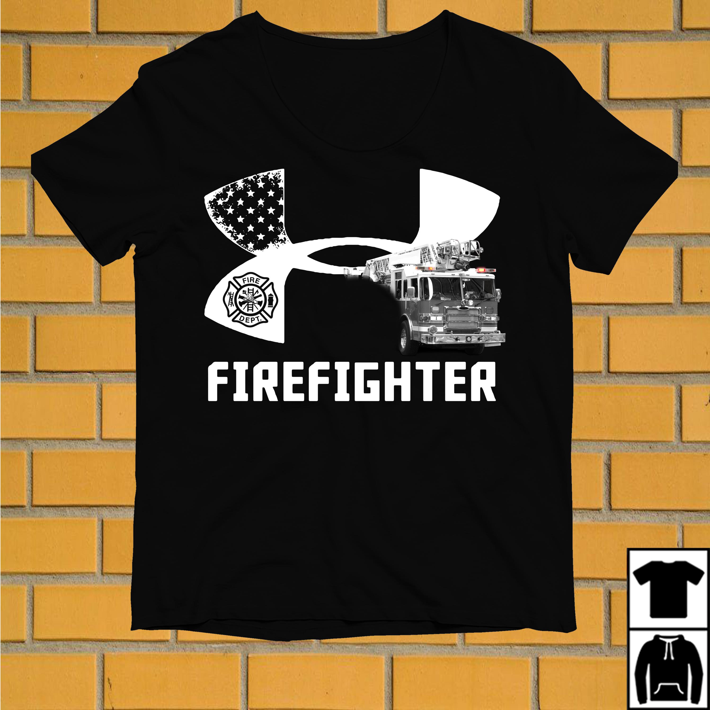 Under armour firefighter shirt