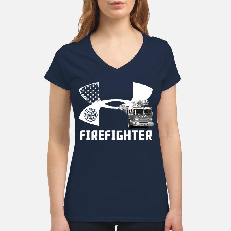 Under armour firefighter V-neck T-shirt