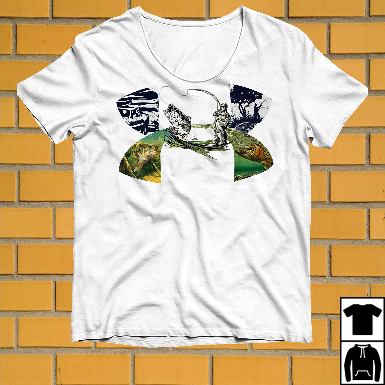 Under armour go fishing shirt