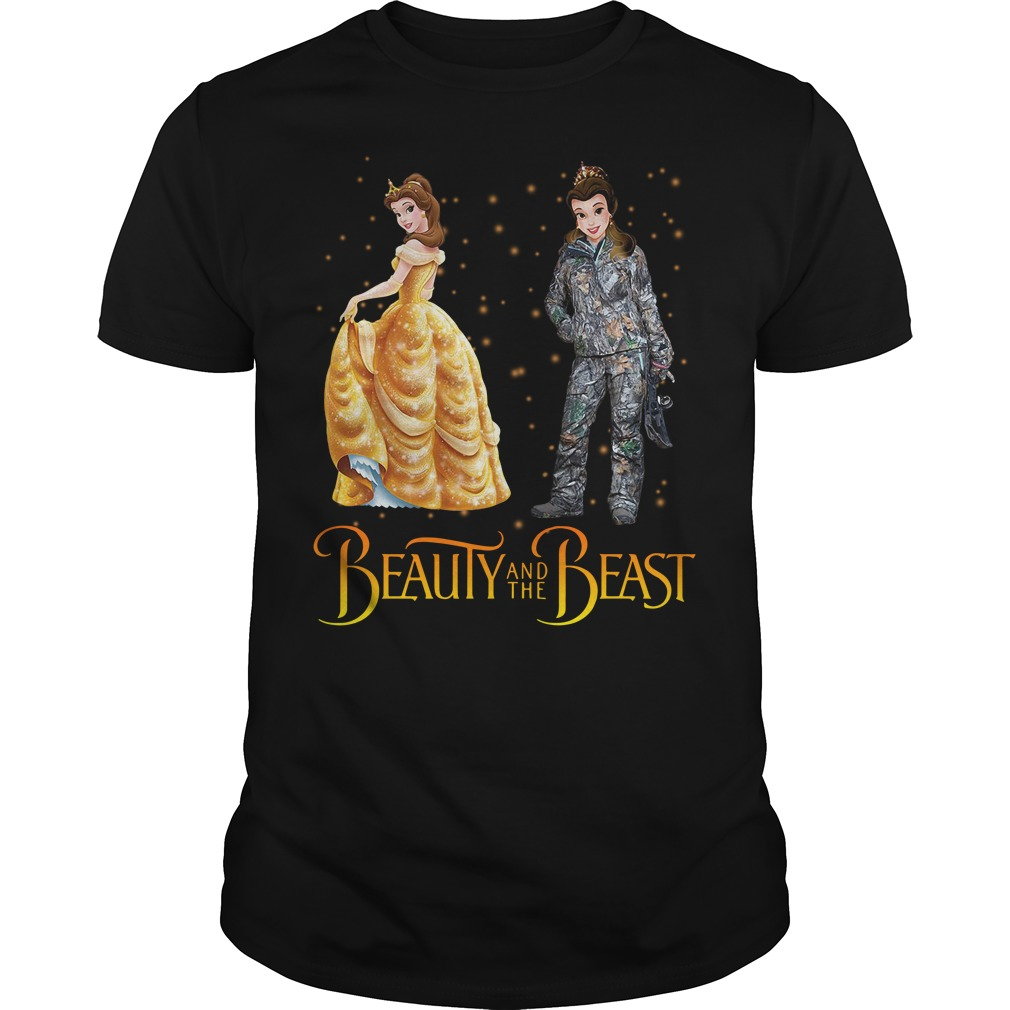 Beauty and the Beast hunting Guys Shirt