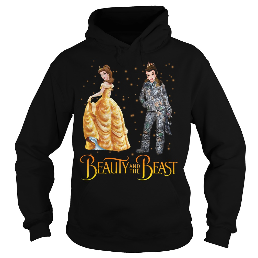 Beauty and the Beast hunting Hoodie