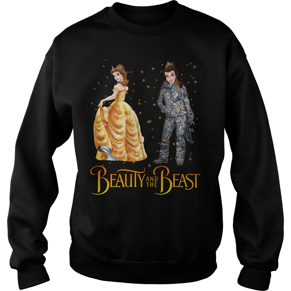 Beauty and the Beast hunting Sweater