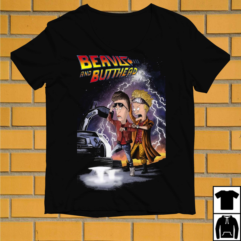 Beavis and butthead flying car shirt