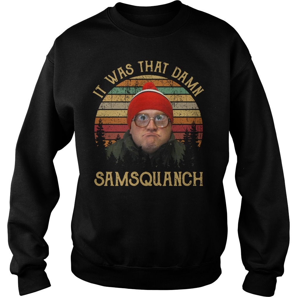 Bubbles Samsquanch It was that damn samsquanch vintage Sweater