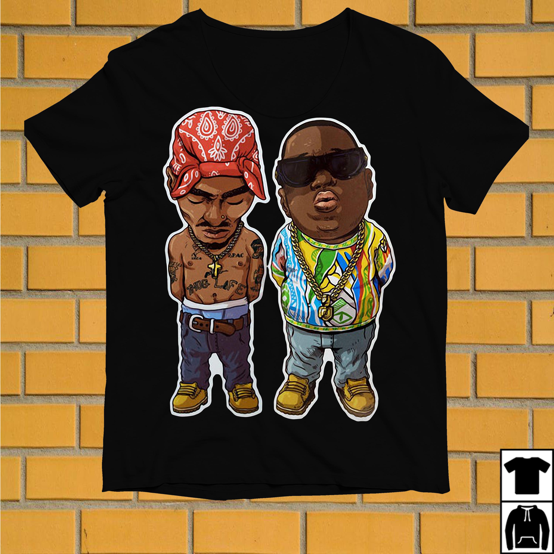 Camisa Camiseta 2pac Notorious Big Thug Life shirt