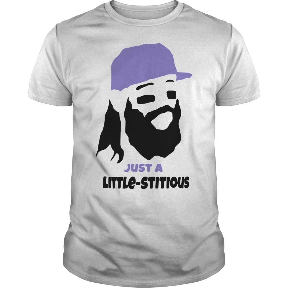 Charlie Blackmon Just a little stitious Guys Shirt