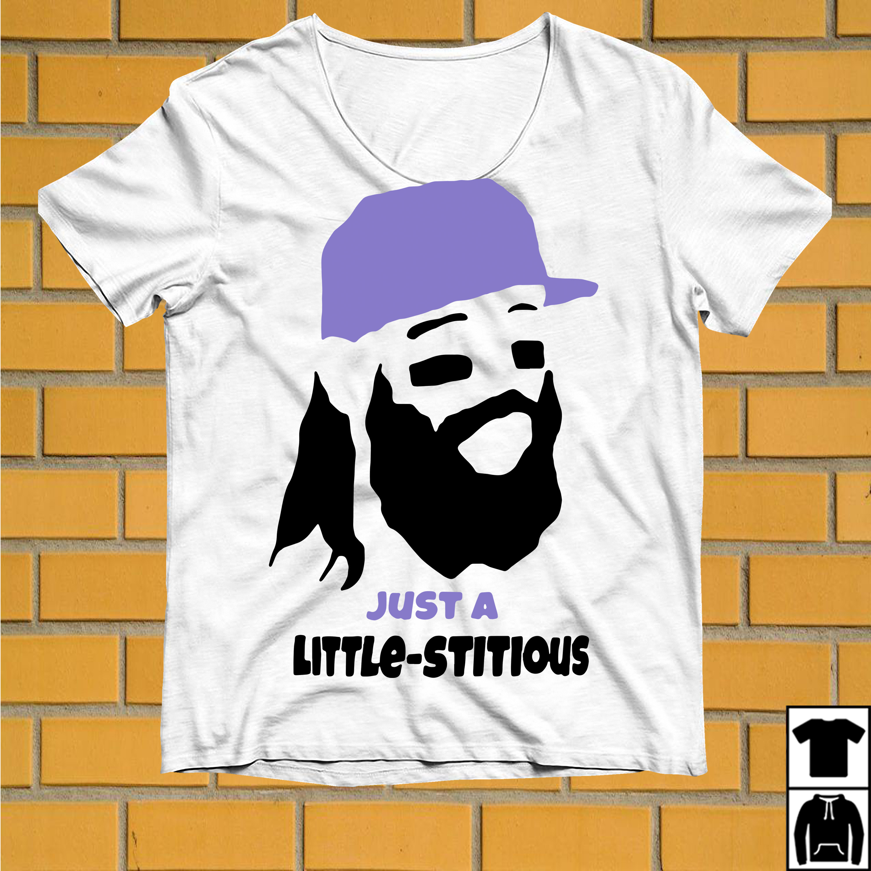 Charlie Blackmon Just a little stitious shirt