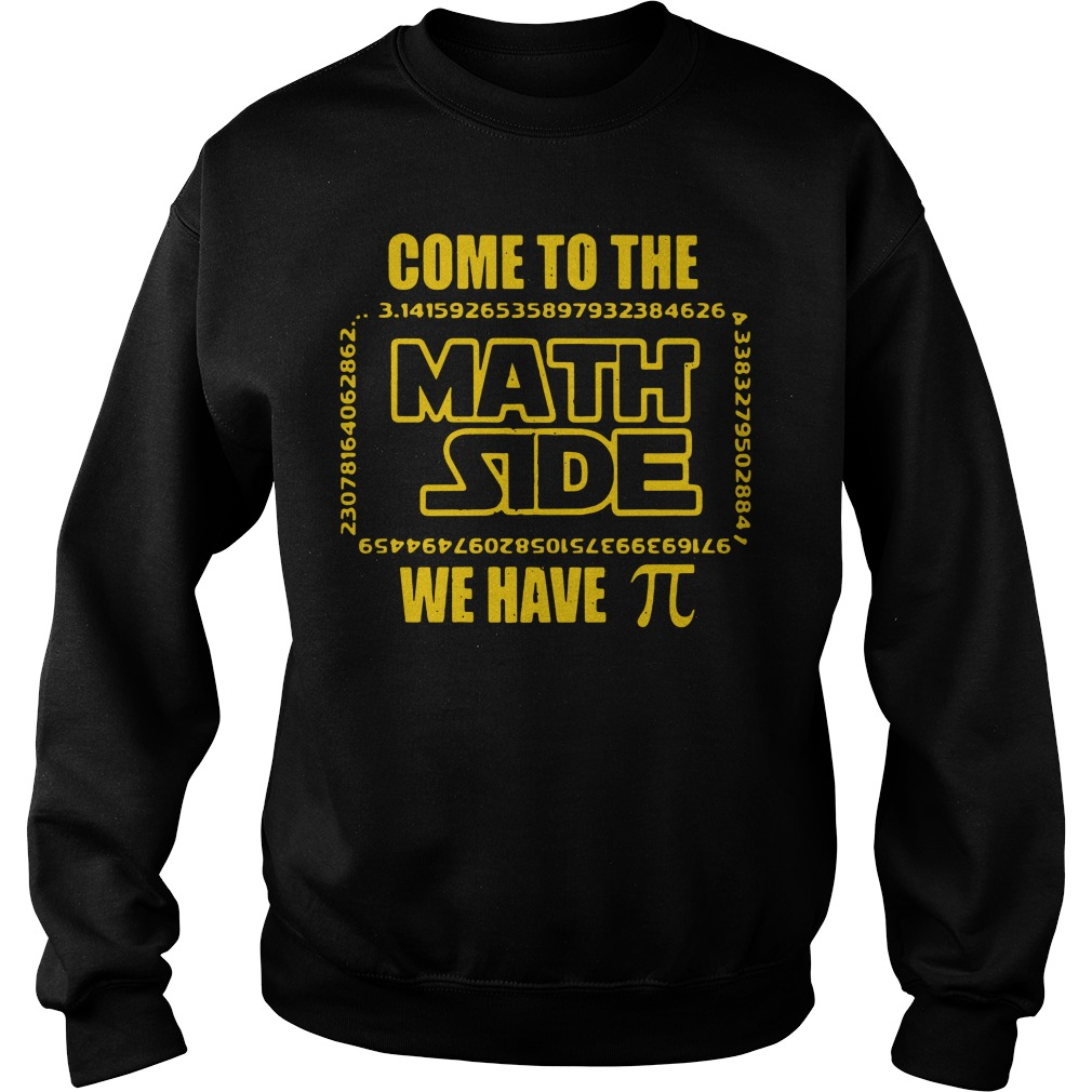 Come to the math side we have Pi Sweater