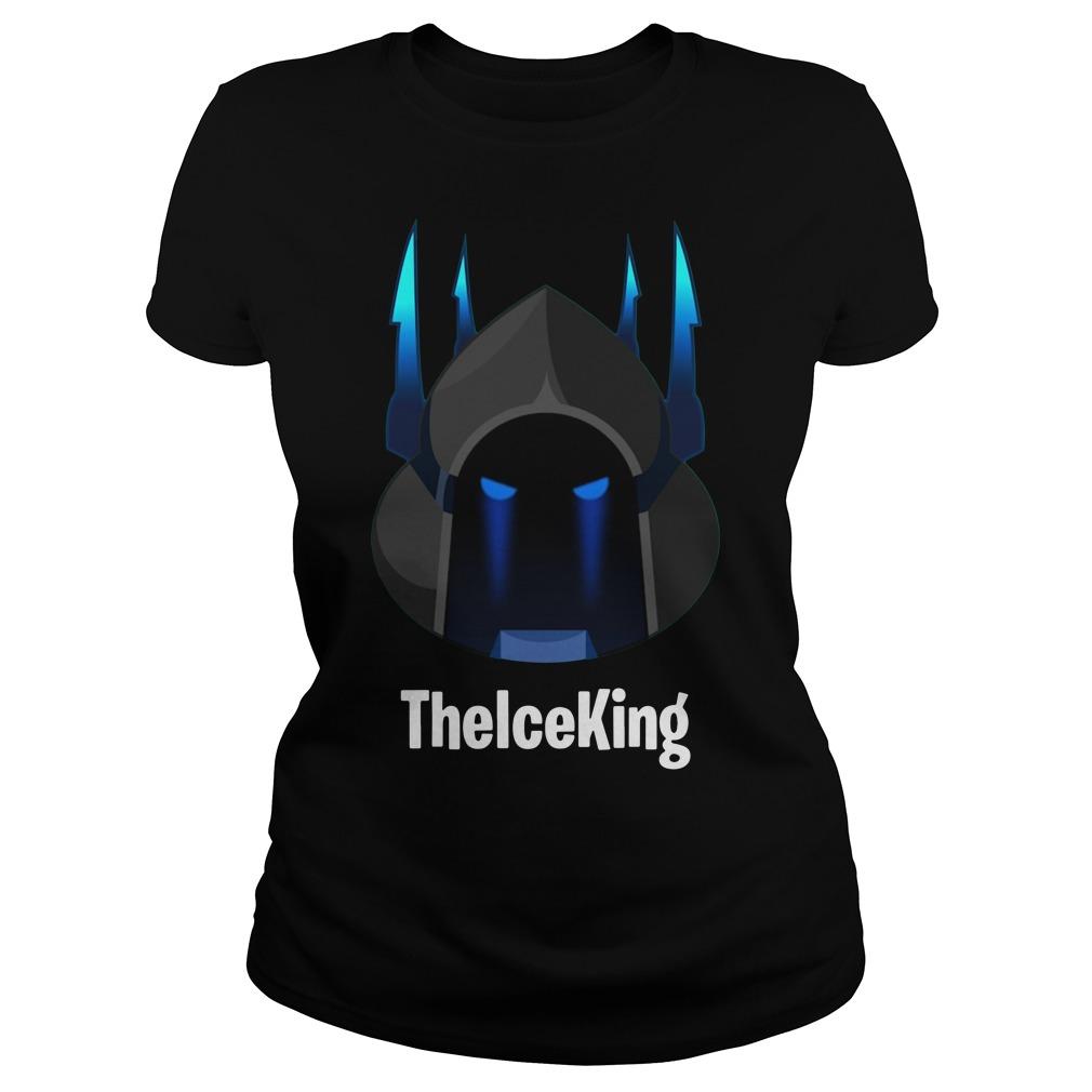 Custom Fortnite Season 7 The Ice King Ladies Tee